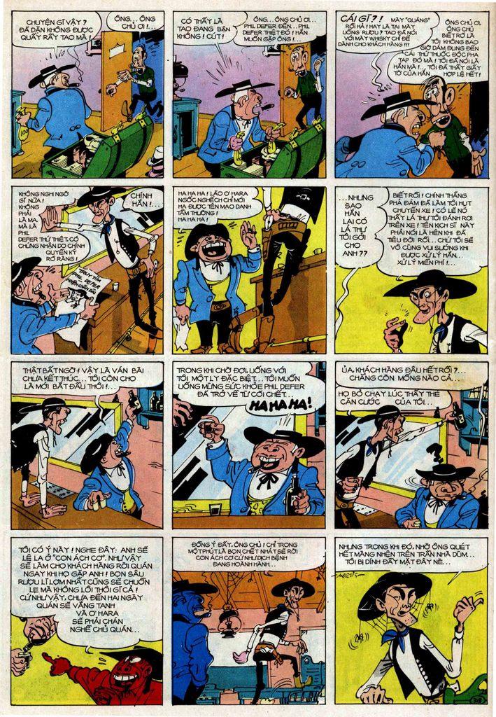 TruyenHay.Com - Ảnh 18 - Lucky Luke Tập 25 - Nhện Chân Dài