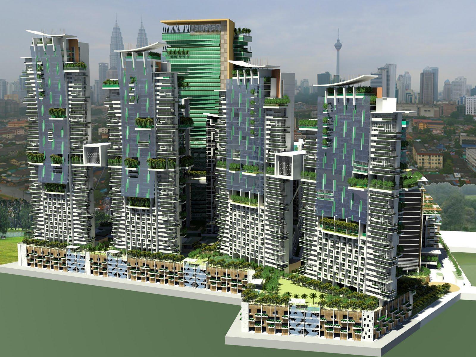 HighEnd Building Facade 1600 x 1200