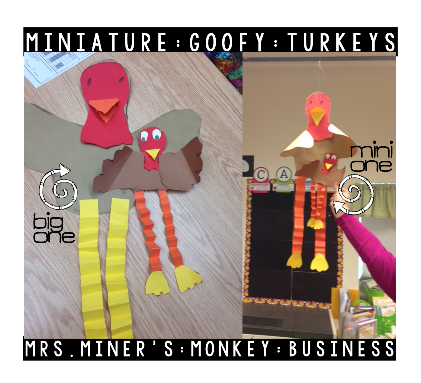 http://www.teacherspayteachers.com/Product/A-Free-Goofy-Turkey-Pattern-165974