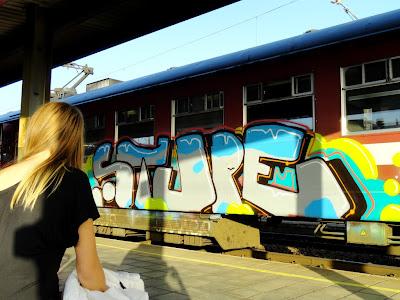 1ST graffiti