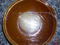 Roscón de Reyes de Trufa-masa roscón-cubierto de film