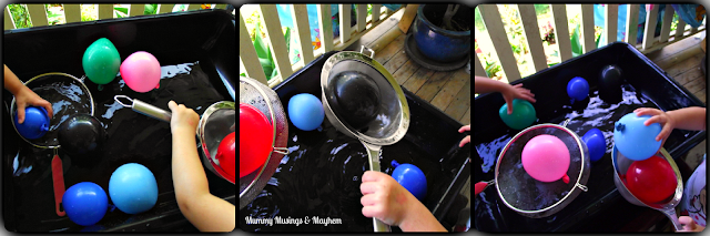 Fine motor water activity