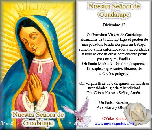 limpiar Virgen morena