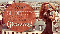 GIVEAWAY: $100 SHOPBOP GIFT CARD