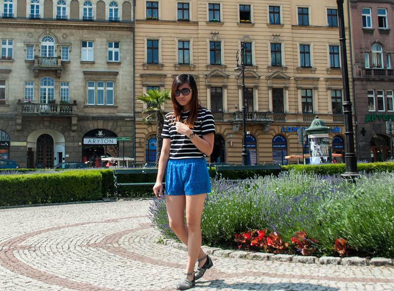 Shein outfit summer in Kraków, Poland