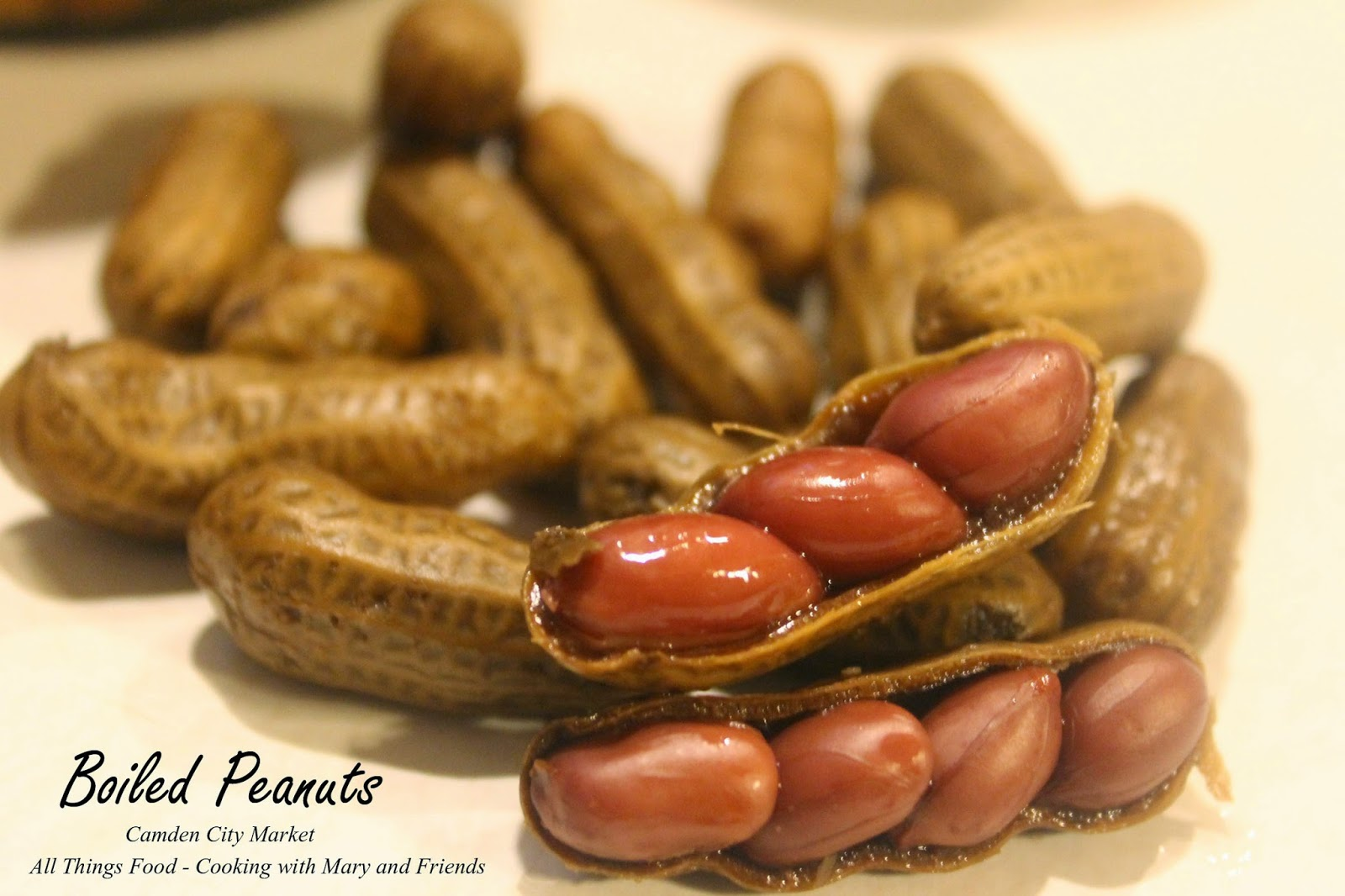 Cooking With Mary and Friends: Boiled Peanuts for freezing ...