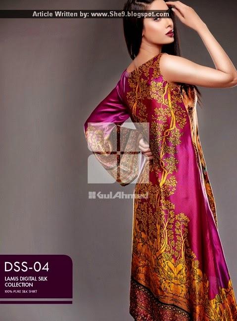 Gul Ahmed - Lamis Digital Silk