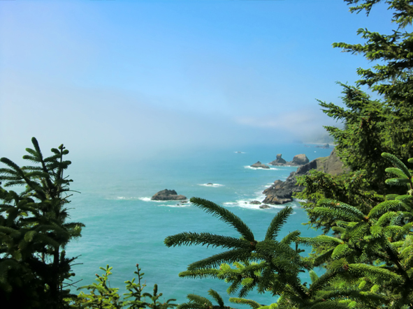 Rocks off coast of Samuel H. Boardman State Scenic Corridor, Oregon