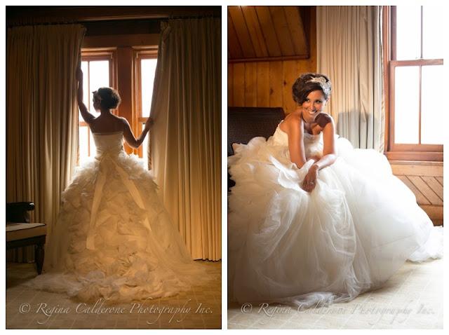 tule wedding dress