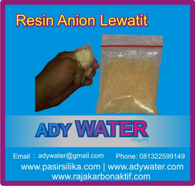 Resin anion Lewatit