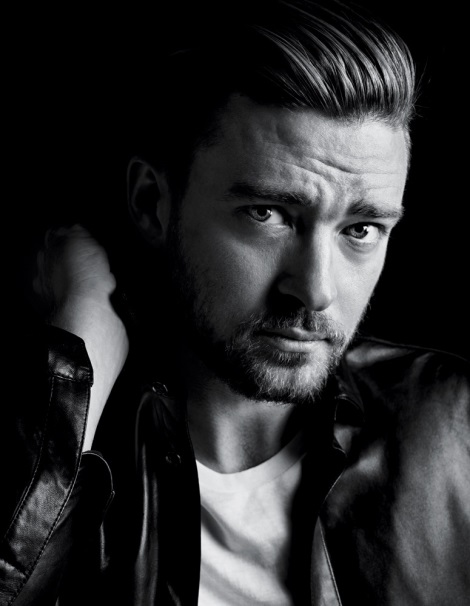 Justin Timberlake by Hedi Slimane for The New York Times T Style