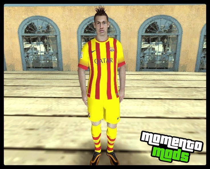 GTA SA - Skins Do Neymar Em HD