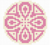 mandala free cross stitch pattern