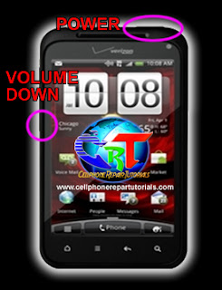 HTC DROID Incredible 2 Hard Reset procedure picture guide