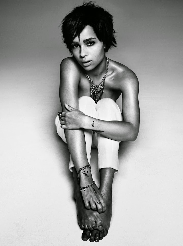 ZOË KRAVITZ, JANUARY 2013 V Magazine