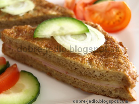 Chlebovo-vajíčkové rezne - recepty