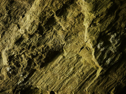 Rock texture photographed with incandescent relief lighting #1