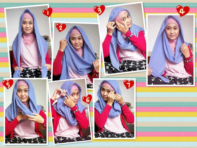 Tips Hijab Modern Model Paris Terbaru 2016 image