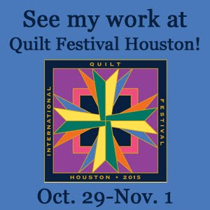 See My Work at Quilt Festival Houston!