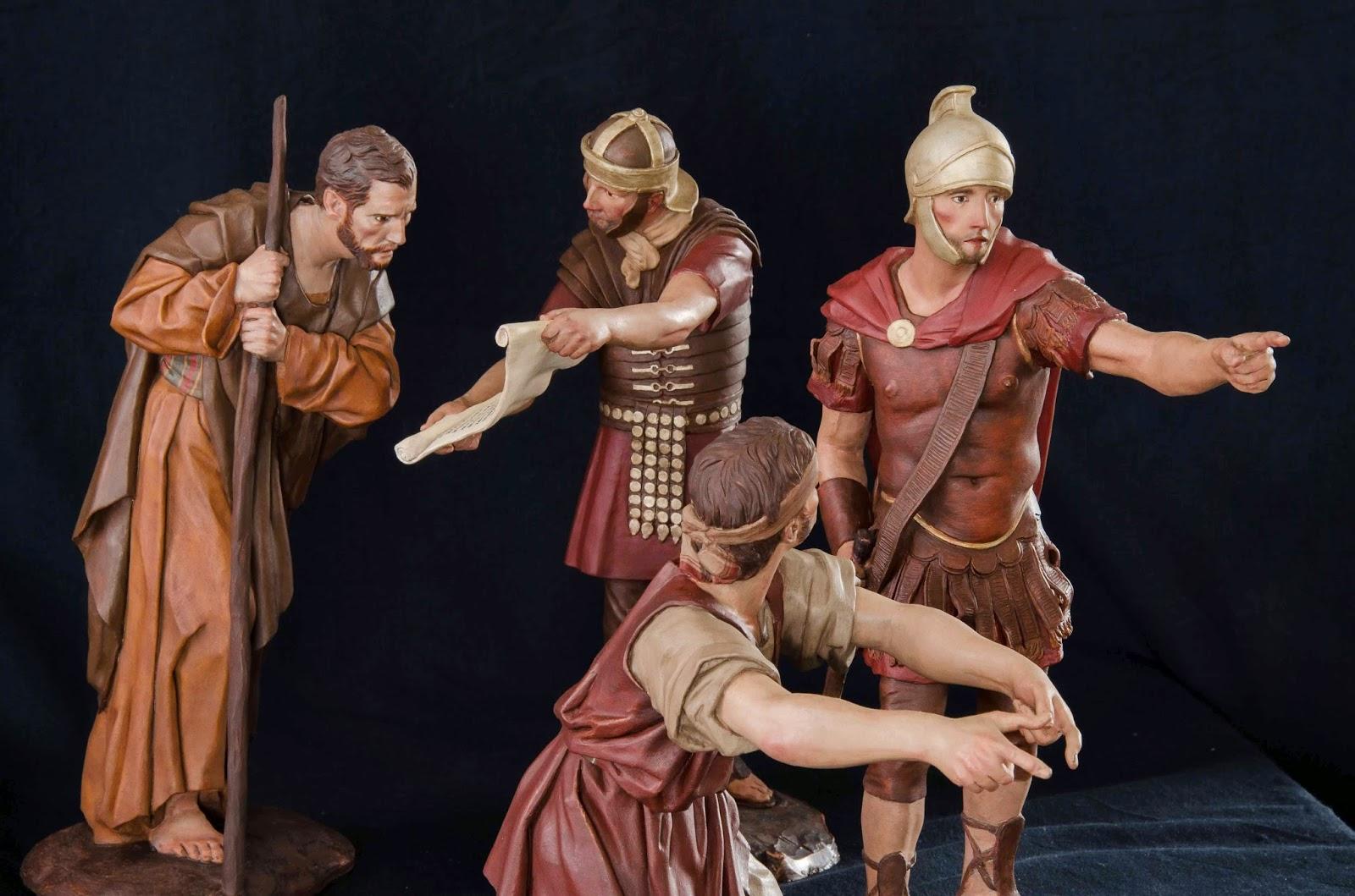 Belén presepe nativity krippe Arturo Serra escultura barro cocido 12