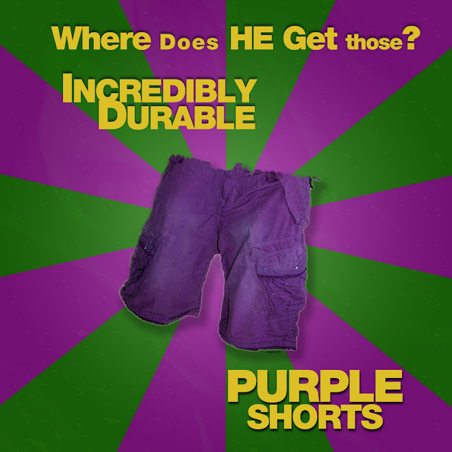 Purple Shorts - Michael Paulhus 2010