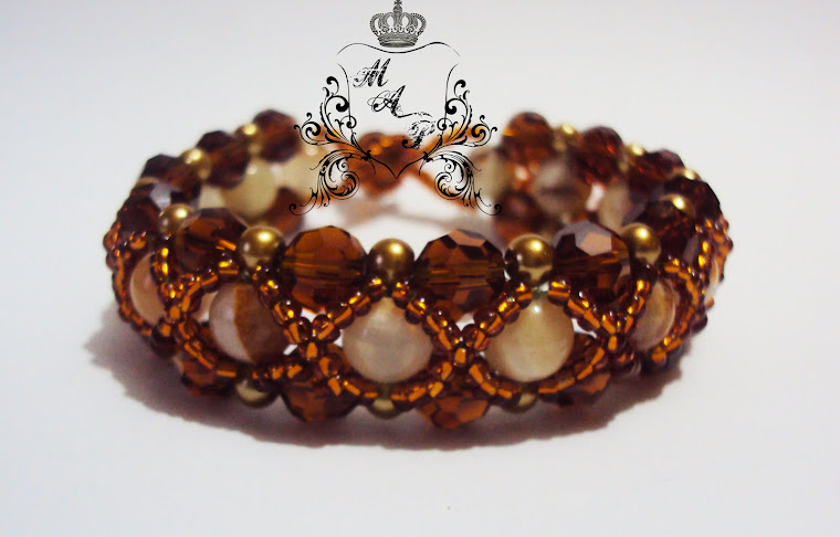 NEW!!! Barroque brown bracelet