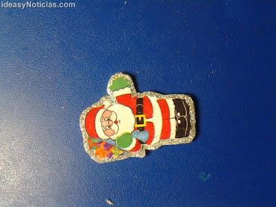 Broche de Santa claus como accesorio Navideño