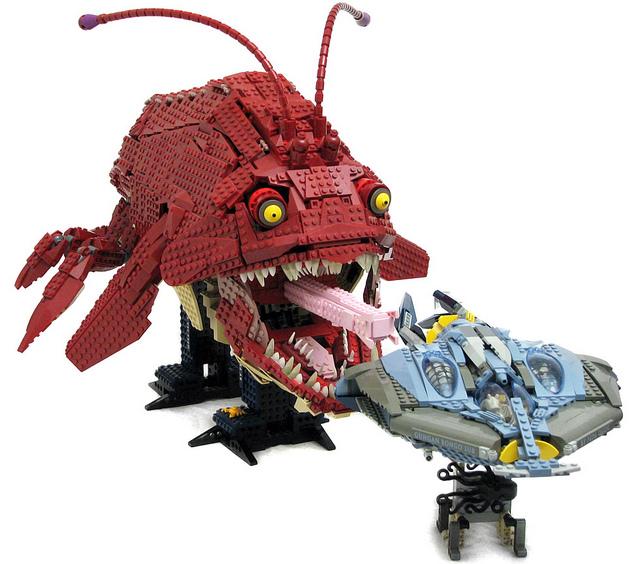 Y Were Dinosaurs So Big Music: Lego Opee Sea K...
