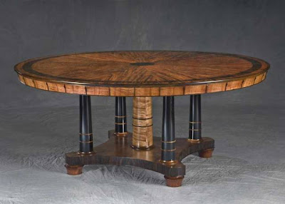 Dining Table, Wood Furniture by Alan Wilkinson