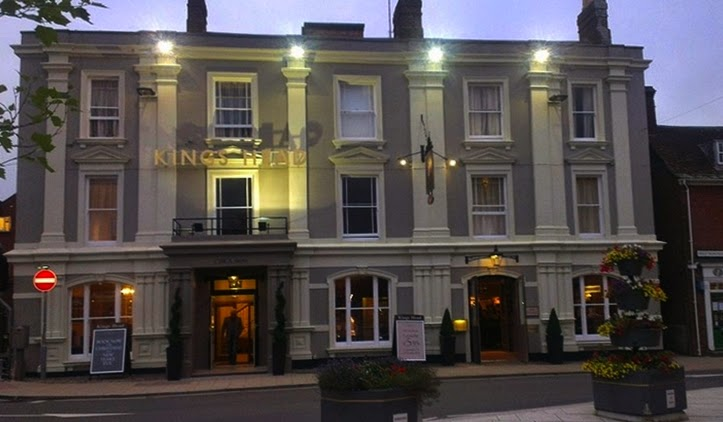 King's Head hotel Wimborne Minster, Dorset