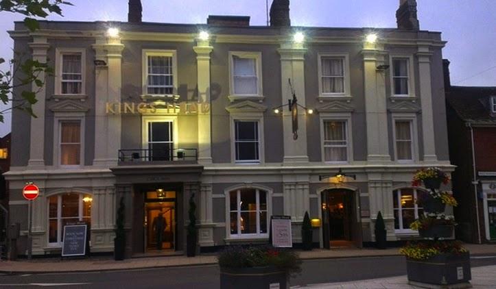 King's Head hotel Wimborne Minster, Dorset
