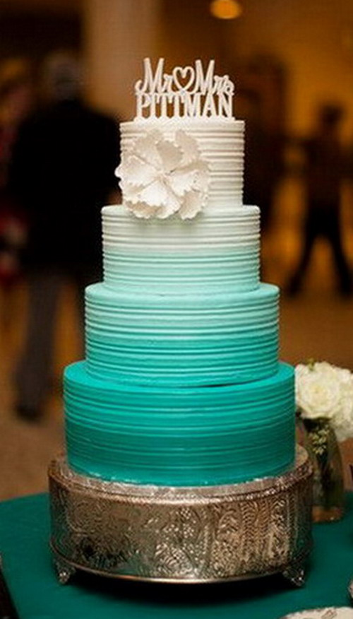 Nice Buttercream Wedding Cakes