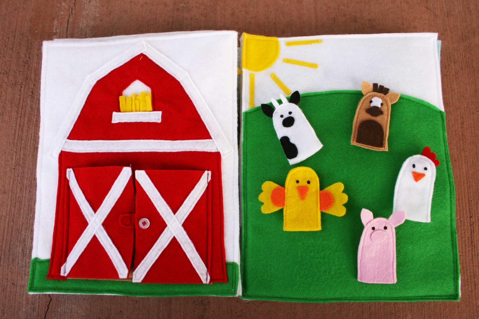 Sunshine lollipops and rainbows farming quiet book for The idea door quiet book