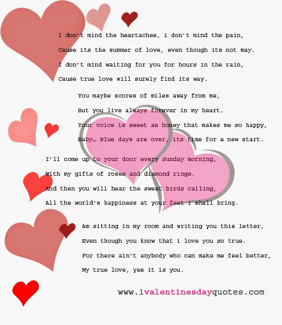 Happy Valentine Day Poems 2018 and Valentines Quotes