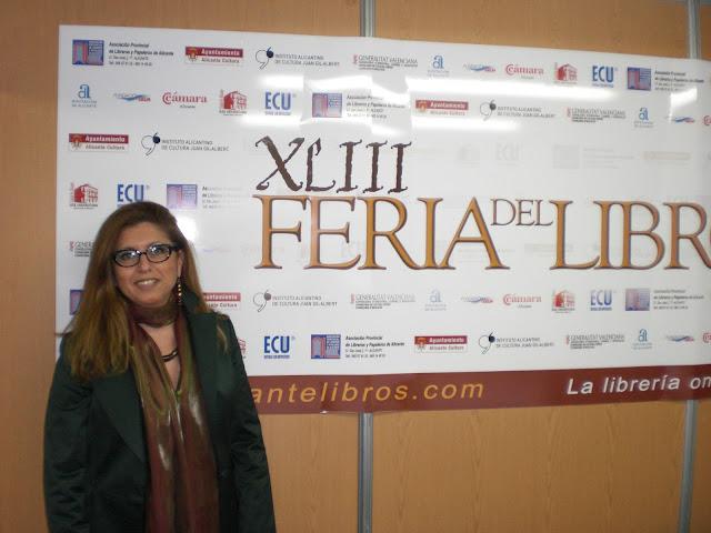 El Blog de María Serralba - Feria del Libro Alicante 2013