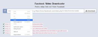 _7_Paste URL Video Facebook