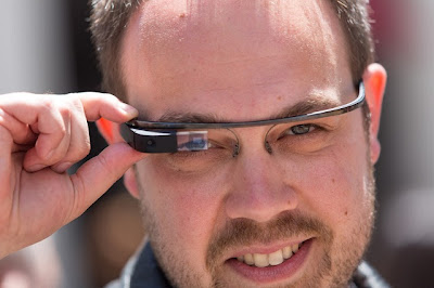 What else is in the Google Glass lenses?