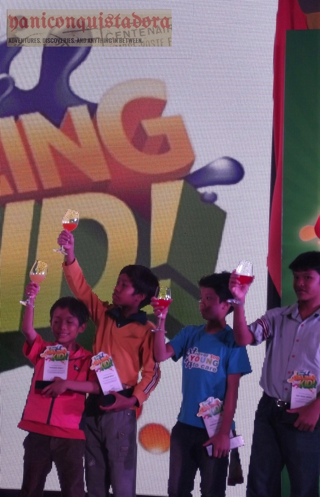 Tanggaling club prizes for kids