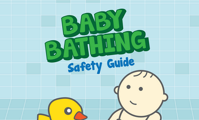 Image: Baby Bathing Safety Guide
