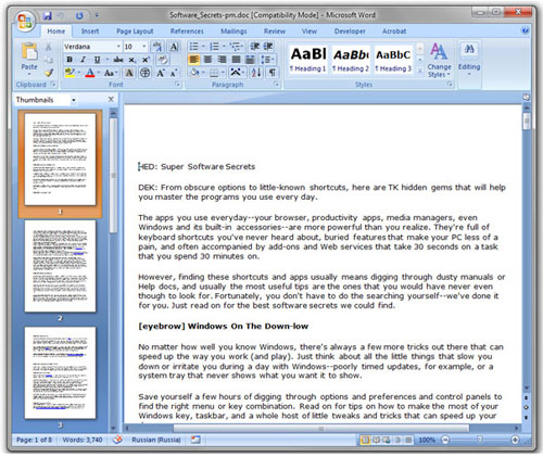8 thủ thuật cho người hay dùng Microsoft Office 1
