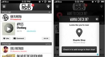escucha y descarga musica gratis en tu iPhone con Clerkd - www.dominioblogger.com
