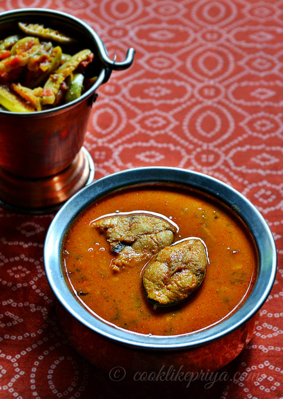 Amma's Qick & Easy South Indian fish curry