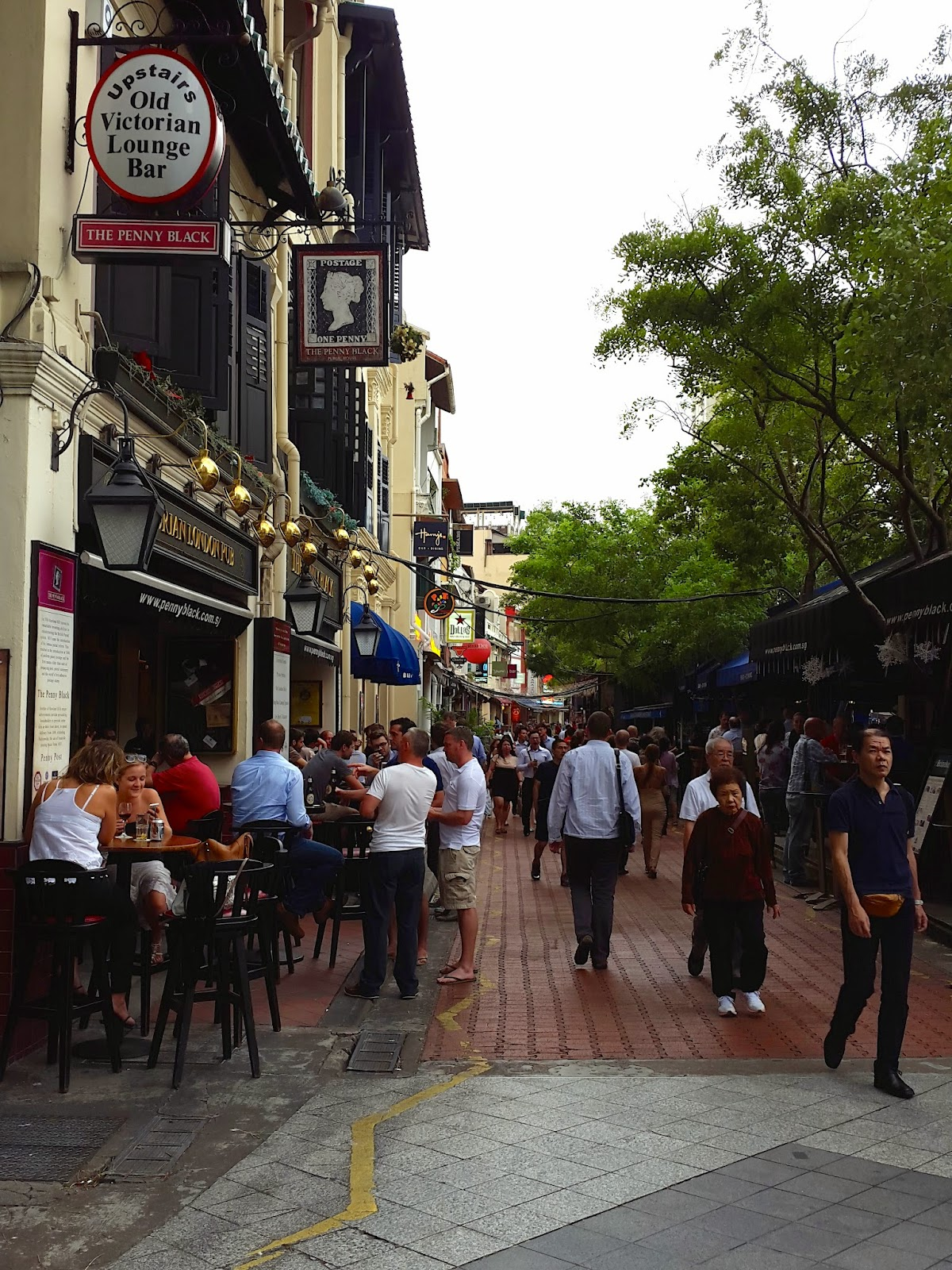 Boat Quay Restaurants and Pubs Singapore