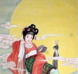 Ch'an Chu, a halhatatlan Holdistennő