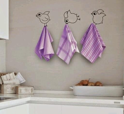 Detr s de mi puerta small lowcost decora la cocina con vinilos - Dibujos de cocina ...