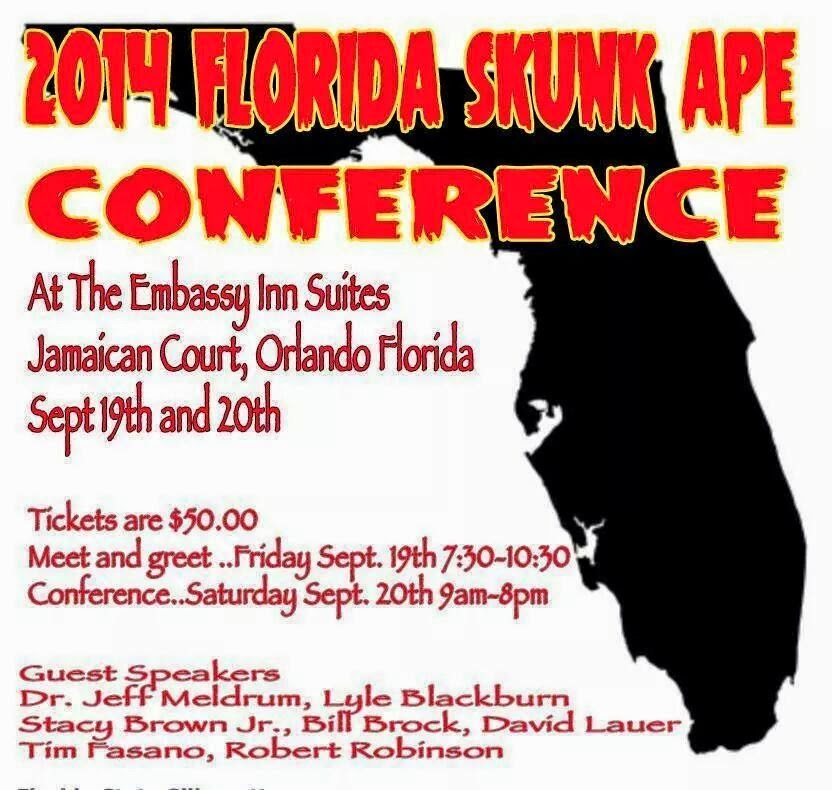 2014 Florida Skunk Ape Conference
