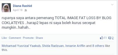 SAMPAI SEKARANG TAK DAPAT LAGI HADIAH DARI TOTAL IMAGE NI..