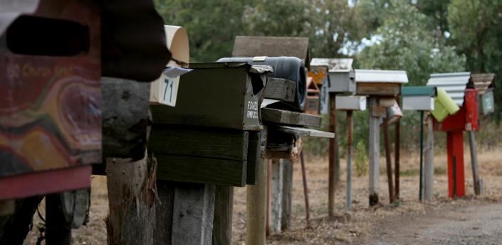 Mailboxes country victoria castlemaine daylesford australia travel adventure