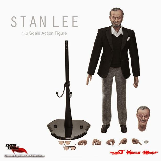 Detalles Figura de acción Stan Lee