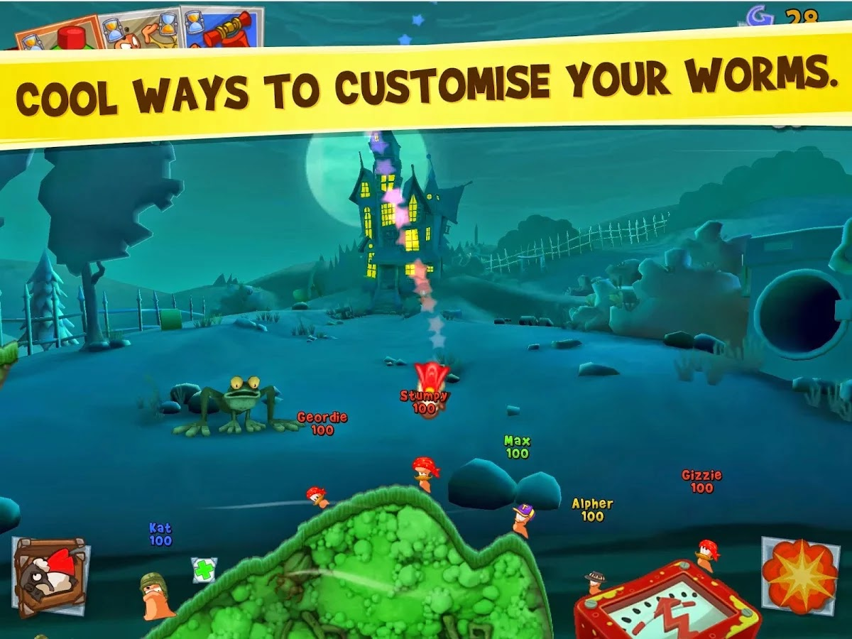 Worms 3 v1.98 Mod [Unlocked & Unlimited Money]